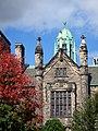Feuille rouge en face de Trinity College - panoramio.jpg