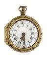 Fickur med boett i guld och urtavla i emalj, 1700-tal - Hallwylska museet - 110435.tif