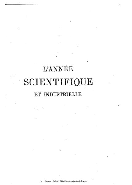 File:Figuier, Louis - L'année scientifique et industrielle, 1862.djvu