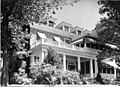 File-Black & white print; building-Medical director's Residence on Reserve Avenue, above Army-Navy Hospital duplexes; front elevation (dfc8f956-9bd9-42f9-9ba3-a2c6bfa4f5f9).JPG