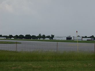 Liberty Township, Hancock County, Ohio - Overview of Findlay Airport