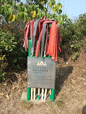 Fire flapper (tool) - Fire-beaters on the island of Cheung Chau, Hong Kong