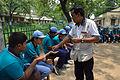 Fire-making - Survival Programme - Summer Camp - Nisana Foundation - Sibpur BE College Model High School - Howrah 2013-06-09 9680.JPG