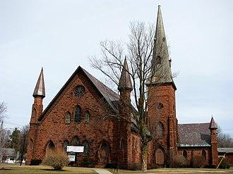 Potsdam (village), New York - Image: First Presbyterian Church of Potsdam