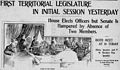 First Territorial Legislature In Initial Session Yesterday, The Advertiser, 1901.jpg
