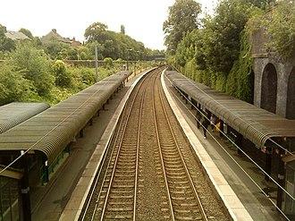 Five Ways railway station - Image: Five Ways railway station, Andrew Abbott, 1966638