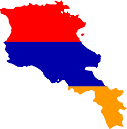 Flag map of Armenia.svg