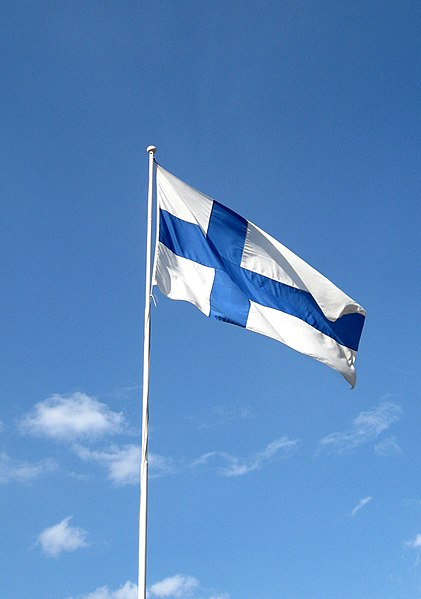 Tiedosto:Flag of Finland 2016.JPG