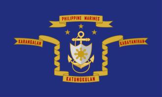 Nicanor Faeldon - Image: Flag of the Philippine Marine Corps