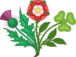 English: Floral Badges of the United Kingdom o...