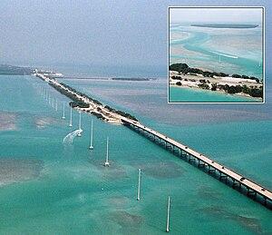 Florida Keys - bird's eye view