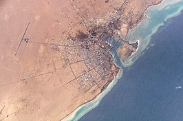 NASA photograph of Yanbu' al Bahr