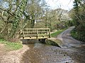 Footbridge and ford at Mill Beck. - geograph.org.uk - 397575.jpg