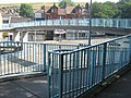 Footbridge over A2 New Road, Chatham - geograph.org.uk - 1382958.jpg