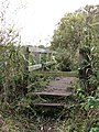 Footbridge over drain - geograph.org.uk - 1020790.jpg