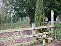 Footpath, East Woodlands - geograph.org.uk - 1150593.jpg
