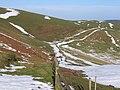 Footpath East of Moel Llanfair - geograph.org.uk - 337097.jpg