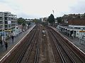 Forest Hill stn high southbound.JPG