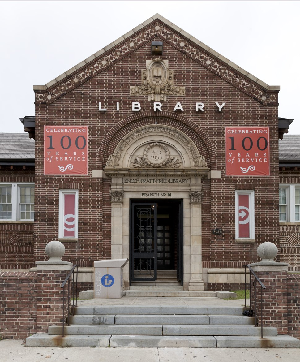 Forest Park Branch of the Enoch Pratt Free Library, Baltimore, Maryland LCCN2012630129