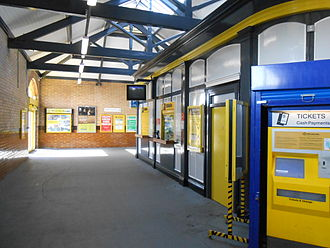 Formby railway station - Image: Formby railway station (4)