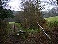 Former Anti-Tank Ditch, Old Lodge Warren - geograph.org.uk - 648018.jpg