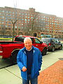Former mayor David Crombie, in front of Crombie Park, 2016 03 18.JPG