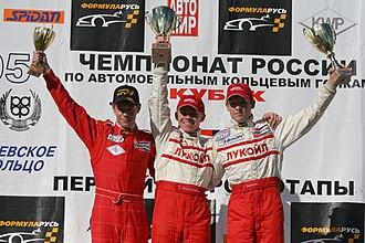 Formula RUS - Formula RUS podium