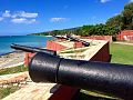 Fort Frederik, St. Croix, USVI -- cannons view North.jpg