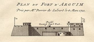 The Portuguese Empire ruled Arguin (Portuguese: Arguim ) from 1445, after Prince Henry the Navigator set up a feitoria, until 1633. Fort of Arguin 1721.jpg