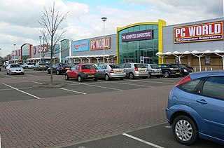 Fosse Shopping Park Shopping park in Blaby, Leicester