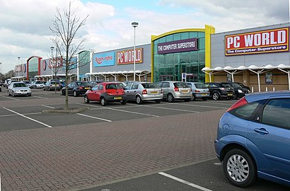 How to get to Fosse Shopping Park with public transport- About the place