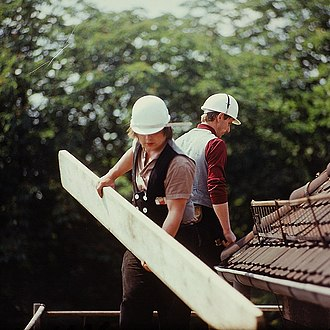 Apprenticeship - Carpentry is another occupation learned through apprenticeship.