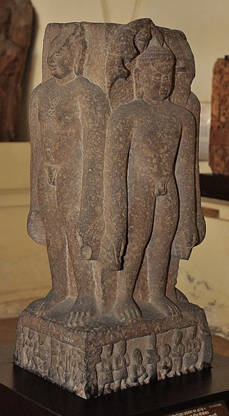 Suparshvanatha - Image: Four Fold Jain Image with Suparshvanath and Three Other Tirthankaras Circa 1st Century CE ACCN 00 B 67 Government Museum Mathura 2013 02 24 6023
