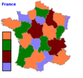 Four color theorem illustration looking at provinces of France.png