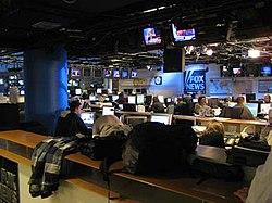 Fox News Channel newsroom.jpg