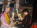 Foxboro Hot Tubs - Jason Freese & Billie Joe - Bowery Electric NYC (4562740610).jpg