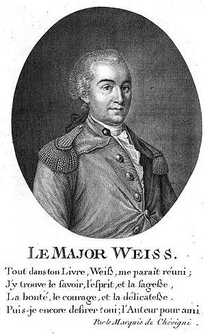 François-Rodolphe de Weiss - François-Rodolphe de Weiss