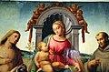 Francesco granacci, madonna tra i ss. sebastiano e francesco, 1510-20 ca., da. francesco 03.JPG