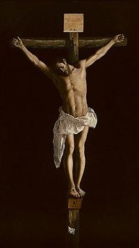 Cristo En La Cruz Zurbarán Wikipedia La Enciclopedia Libre