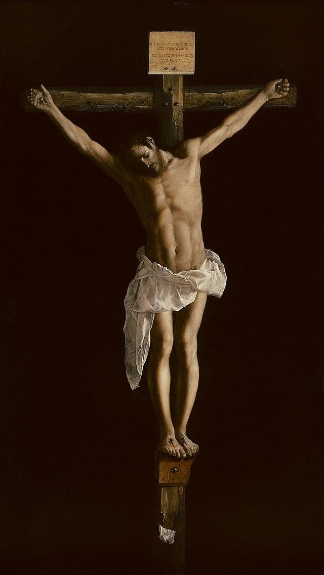 Francisco de Zurbarán - Christ on the Cross - WGA26051.jpg