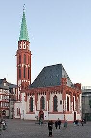 Frankfurt Am Main-Alte Nikolaikirche-Ansicht vom Roemerberg-20081230.jpg