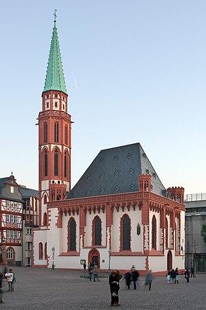Old St Nicholas Church - Old St Nicholas Church in Römerberg, Frankfurt.