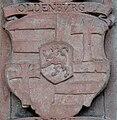 Frankfurt Katharinenkirche Epitaph Heinrich Volrat von Stolberg-Königstein Ahnenprobe links 03 Oldenburg.jpg