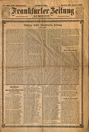 Frankfurter Zeitung - Frankfurter Zeitung, 1906