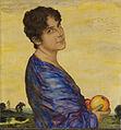 Franz von Stuck Porträt Frau von Stuck ca1914.jpg