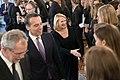 Frauen-Fußballnationalmannschaft Österreich EM 2017 Empfang Bundespräsident 25 Alexander Van der Bellen Christian Kern Doris Bures.jpg