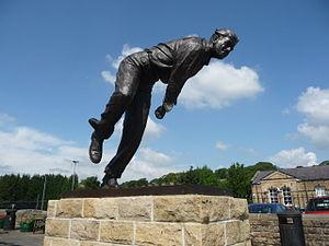 Fred Trueman - Statue in Skipton