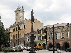 Frenštát pod Radhoštěm - Image: Frenštát pod Radhoštěm (CZE) town hall
