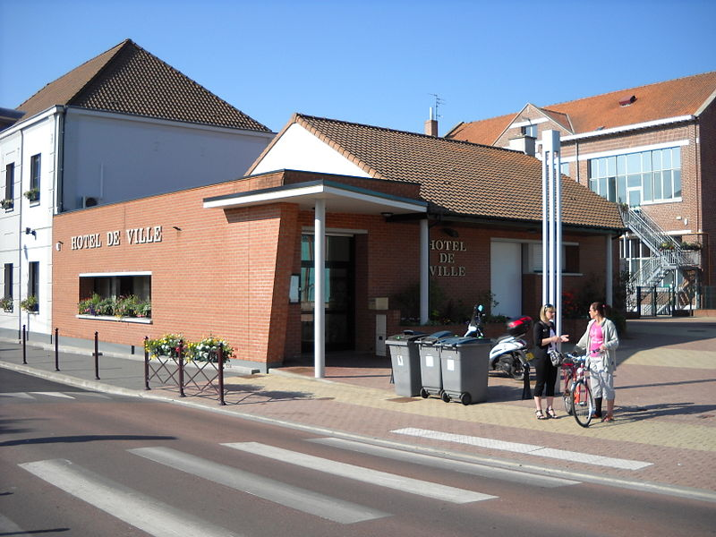 The town hall of Fretin, Nord, France.