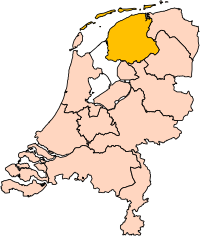 Friesland position.svg